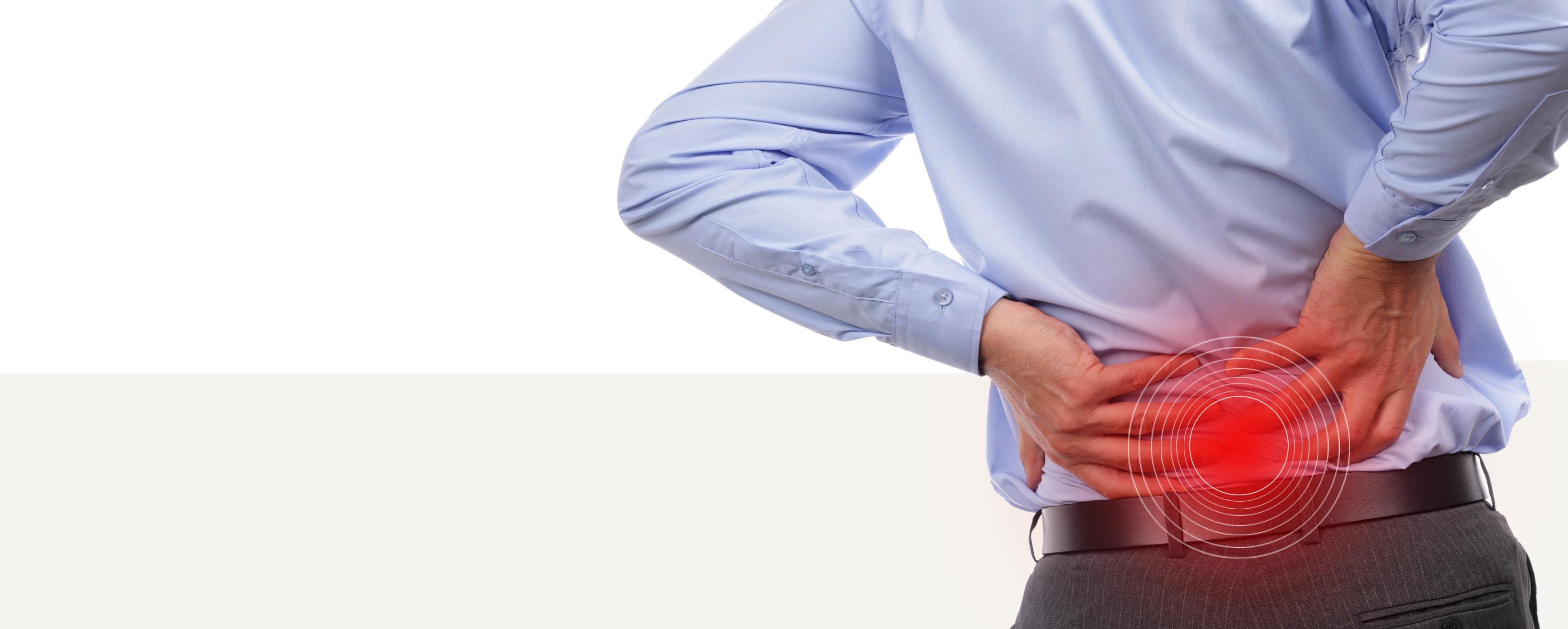 아침에 허리 아래 통증 있으면 '강직성 척추염' 의심